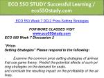 eco 550 study successful learning eco550study com 21