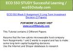 eco 550 study successful learning eco550study com 24