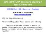eco 550 study successful learning eco550study com 26