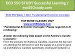 eco 550 study successful learning eco550study com 5