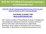 eco 561 tutorials successful learning 27