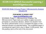 econ 545 genius successful learning econ545genius 10
