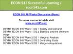 econ 545 successful learning econ545 com 1