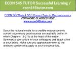 econ 545 tutor successful learning econ545tutor 16