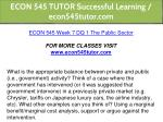 econ 545 tutor successful learning econ545tutor 27