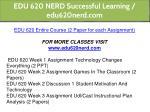 edu 620 nerd successful learning edu620nerd com 1