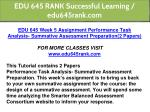edu 645 rank successful learning edu645rank com 13