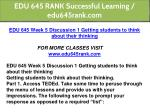 edu 645 rank successful learning edu645rank com 14