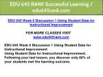 edu 645 rank successful learning edu645rank com 15