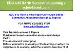 edu 645 rank successful learning edu645rank com 16