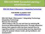 edu 645 rank successful learning edu645rank com 8