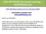 edu 695 study successful learning edu695study com 17