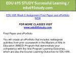 edu 695 study successful learning edu695study com 18