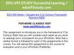 edu 695 study successful learning edu695study com 4