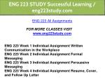 eng 223 study successful learning eng223study com 1