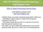 eng 121 papers successful learning eng121papers 21
