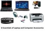 6 essentials of laptop and computer accessories