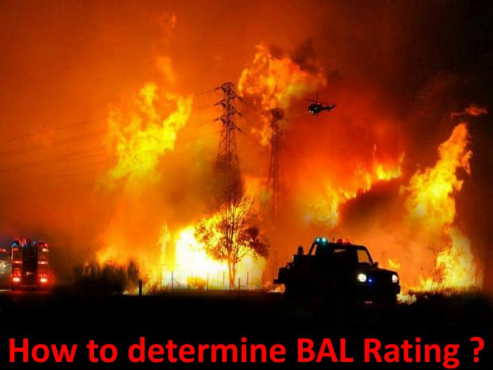 how to determine bal rating n.