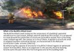 what is the bushfire attack level the bushfire
