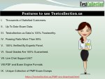features to use testcollection us
