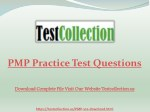pmp practice test questions