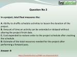 question no 3