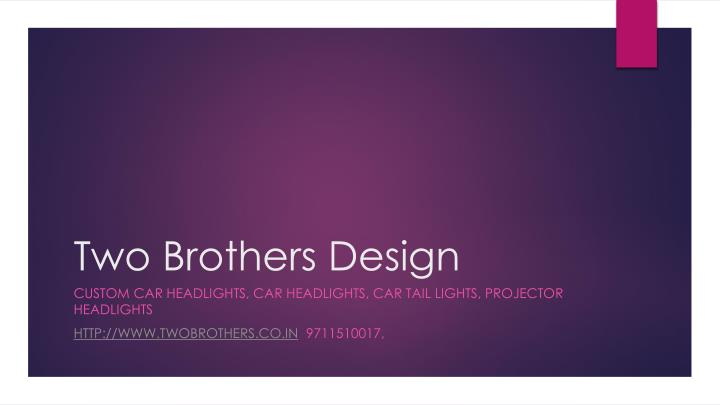 two brothers design n.