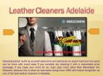 l eather c leaners adelaide