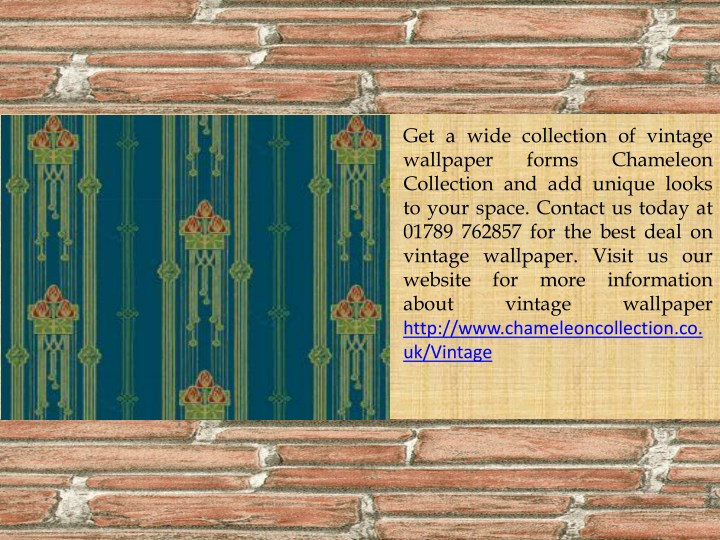 get a wide collection of vintage wallpaper forms n.
