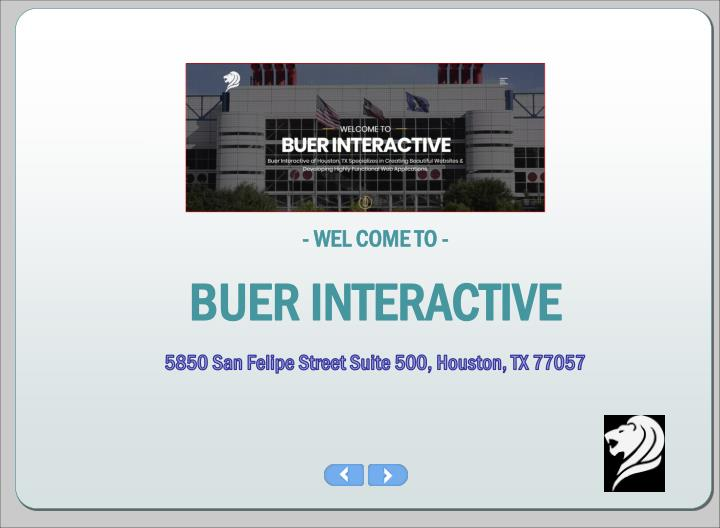 wel come to buer interactive n.