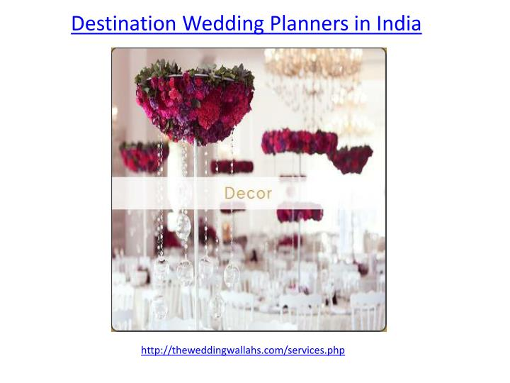 destination wedding planners in india n.