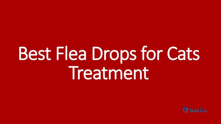 best flea drops for cats treatment n.