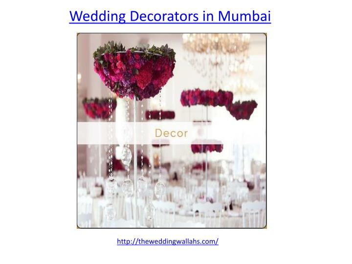 wedding decorators in mumbai n.