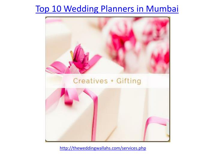 top 10 wedding planners in mumbai n.