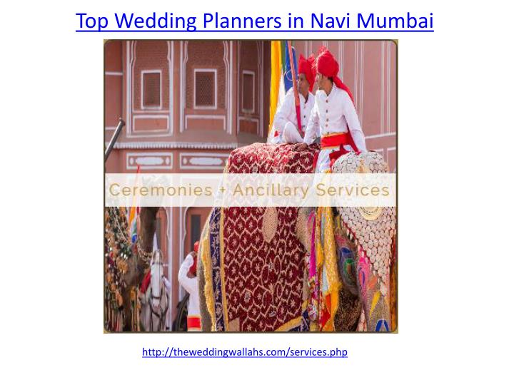 top wedding planners in navi mumbai n.