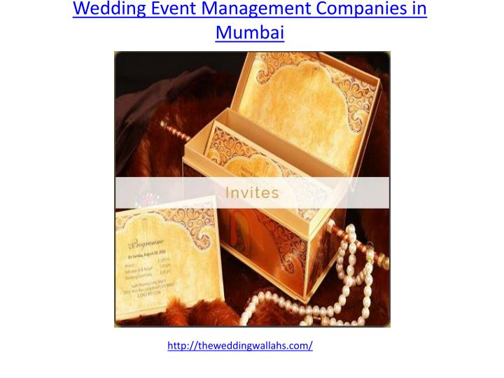 wedding event management companies in mumbai n.