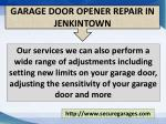 garage door opener repair in jenkintown