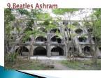 9 beatles ashram
