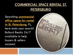 commercial space rental st petersburg