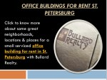 office buildings for rent st petersburg