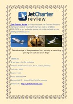 jet charter review provides the best air charter