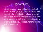 mirraw com