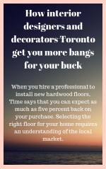 how interior designers and decorators toronto