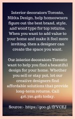 interior decorators toronto nikka design help