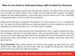 what do you need to understand about ase certified car services