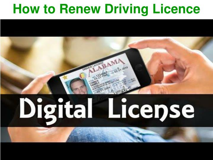 how to renew driving licence n.