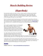 muscle building review
