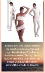 it helps you lose inches around the waist stomach