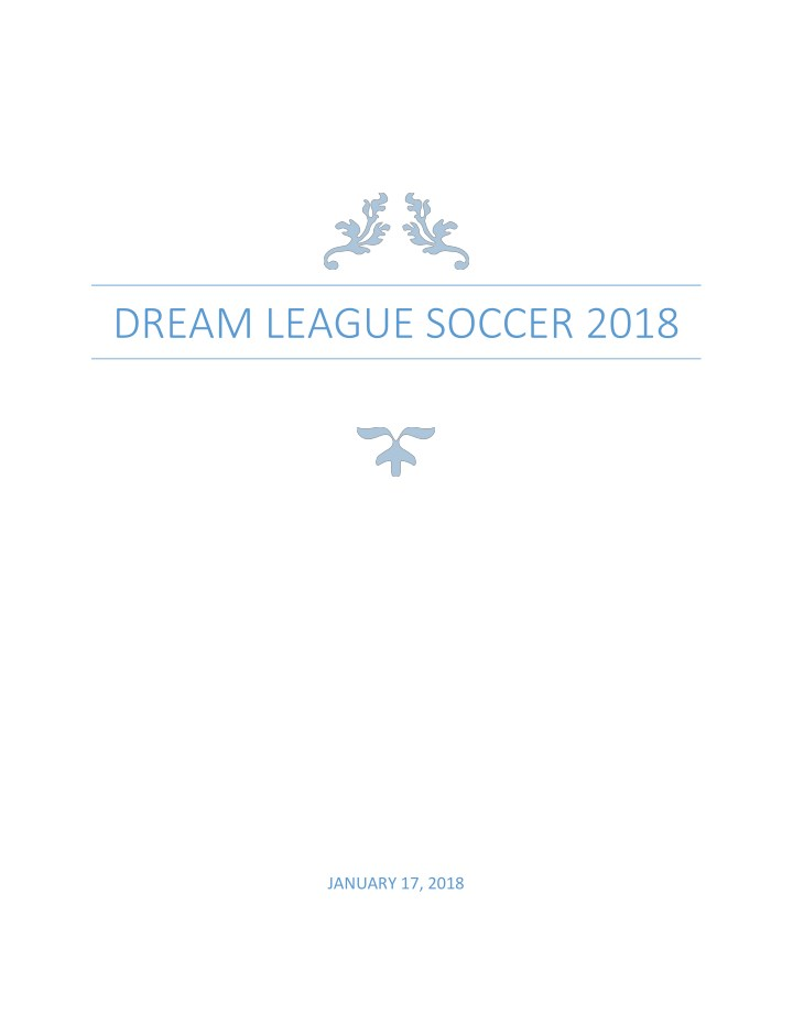 Ppt Dream League Soccer 2018 Hacks For Pc Powerpoint Presentation