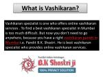 what is vashikaran 1